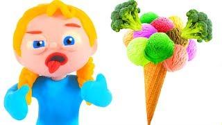 Video DO YOU LIKE BROCOLI WITH ICE CREAM ❤ PLAY DOH CARTOONS FOR KIDS MP3, 3GP, MP4, WEBM, AVI, FLV Maret 2019