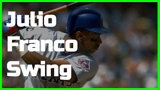 Julio Franco | Swing Like the Greats