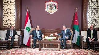الأردن تحذر لبنان من ضربة إسرائيلية قريبة..ماذا قال الملك الاردني للرئيس اللبناني؟