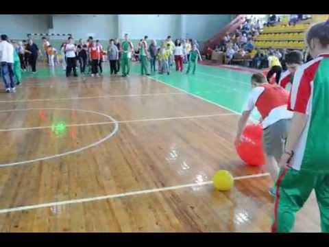 Соревнования для молодёжи с ограниченными физвозможностями в Гомеле