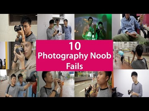 top 10 - It happens to the best of us. Photography fails are forgivable as long as you do it like a pro and avoid these seemingly obvious noob mistakes. Connect with us: ==================================...