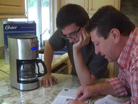 Oster Coffee Maker Review 12-cup with Reuseable Filter Model