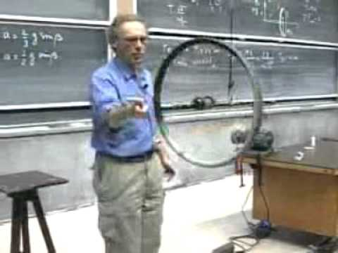 wheel - This video is a part of a lecture from MIT open courseware. The teacher is Prof. Walter Lewin. He is Dutch origin astrophysicist. But at 1966 he went to MIT ...