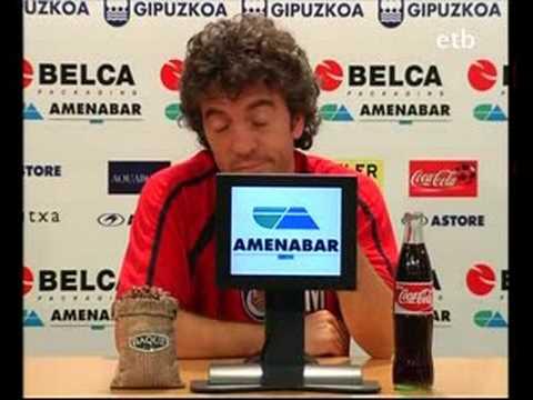 Rueda de prensa de Juan Manuel Lillo