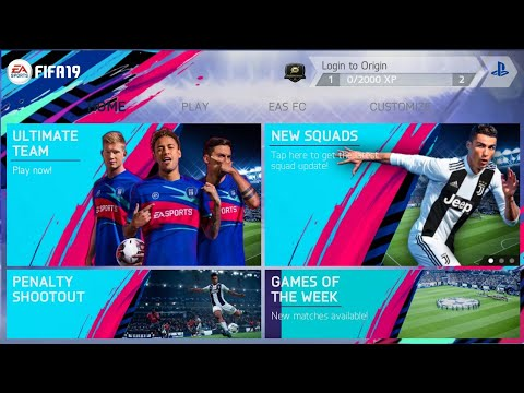 Update!! Download FIFA 14 Mod FIFA 19 Apk Data Obb Full HD For Android