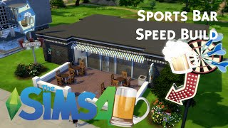 The Sims 4 | SPORTS BAR - SPEED BUILD