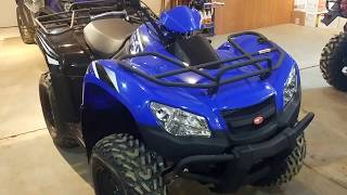 4. All Around Performance.com KYMCO MXU 450I WALK THRU