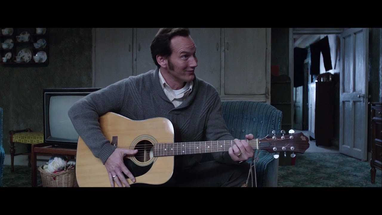 The Conjuring 2 2016 - Singing Scene HD (Can