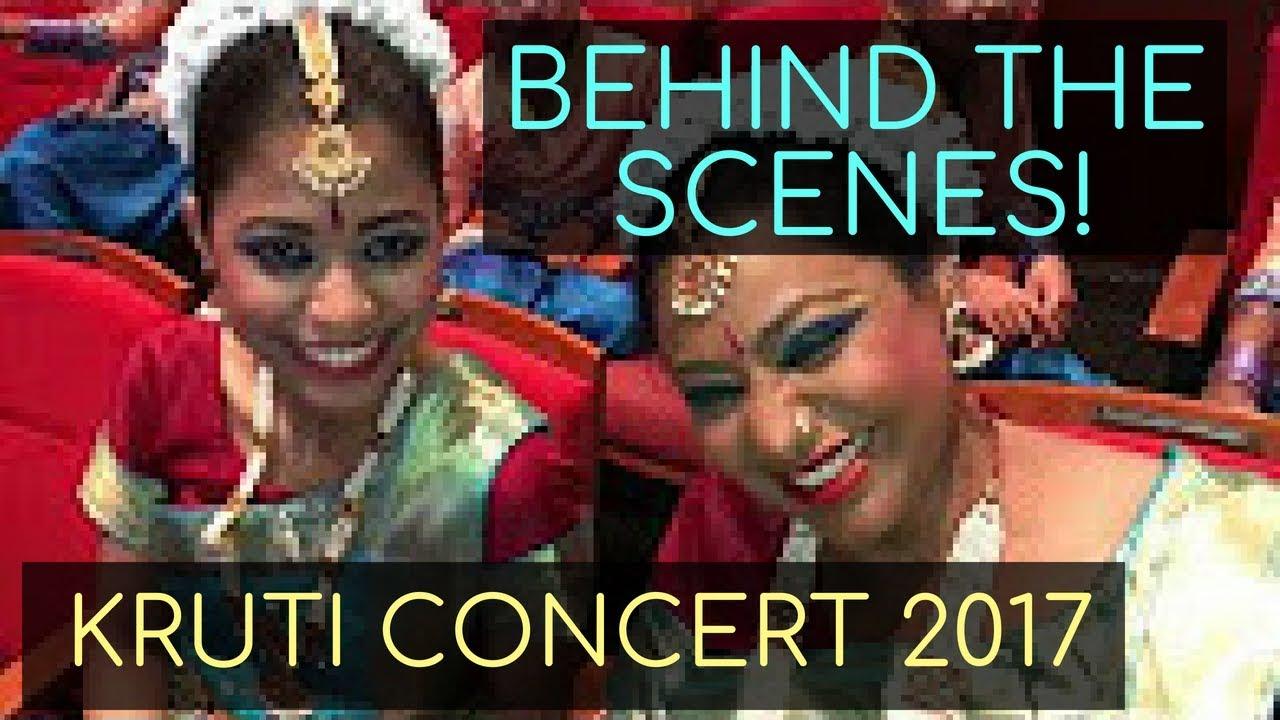 BEHIND THE SCENES – Kruti Concert 2017 VLOG!