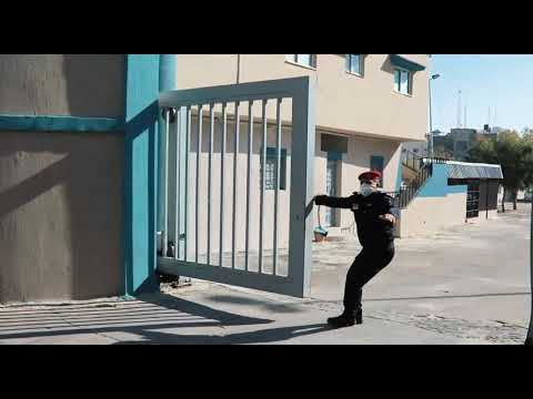إخلاء مقر مدينة عرفات للشرطة في إطار المناورة المشتركة لفصائل المقاومة صباح اليوم