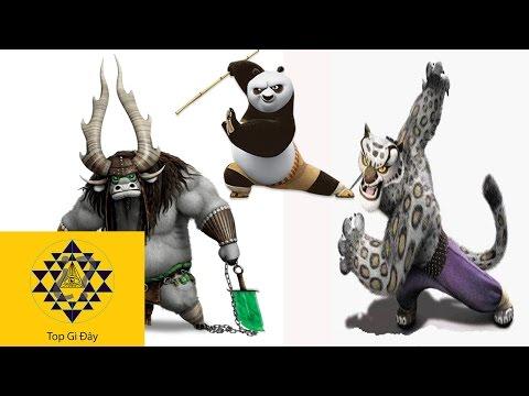 KUNG FU PANDA Human Version ALL CHARACTERS! - Thời lượng: 4 phút và 8 giây.