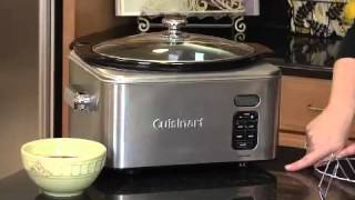 6.5 Quart Programmable Slow Cooker Demo Video Icon