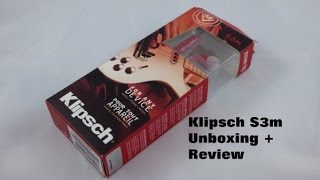 Video Klipsch S3m Earbuds Unboxing and Brief Review MP3, 3GP, MP4, WEBM, AVI, FLV Juli 2018
