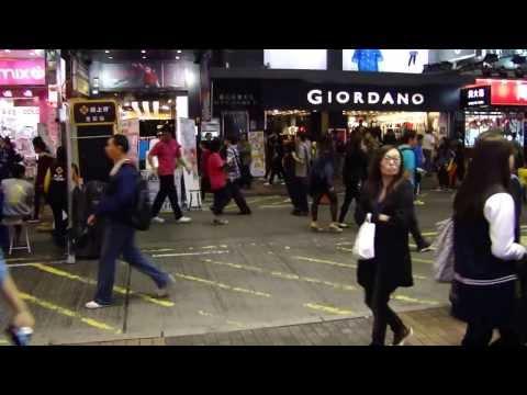 A agitação das ruas de Hong-Kong