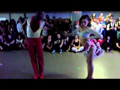 Sabor dinamico. Shows, Costa daurada bachata festival 2012 (видео)