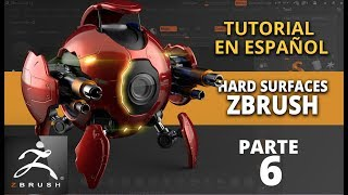 Hard surfaces en Zbrush ::: parte 6