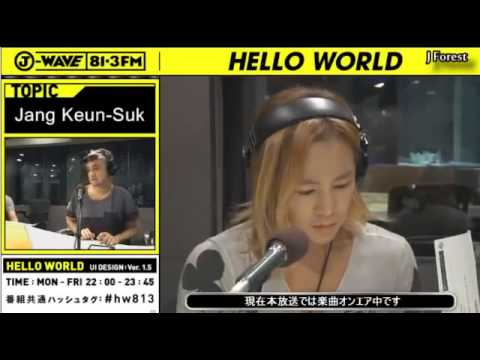 05.29.2013 Nature Boy Jang Keun Suk Special [J WAVE Live Streaming - Full]
