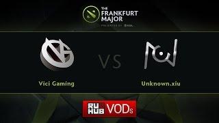 VG vs unknown.xiu, game 2