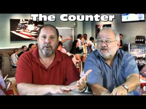 Restaurant review of The Counter in The Woodlands, TX