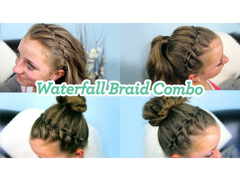 Waterfall Braid Combo | Cute Girls Hairstyles