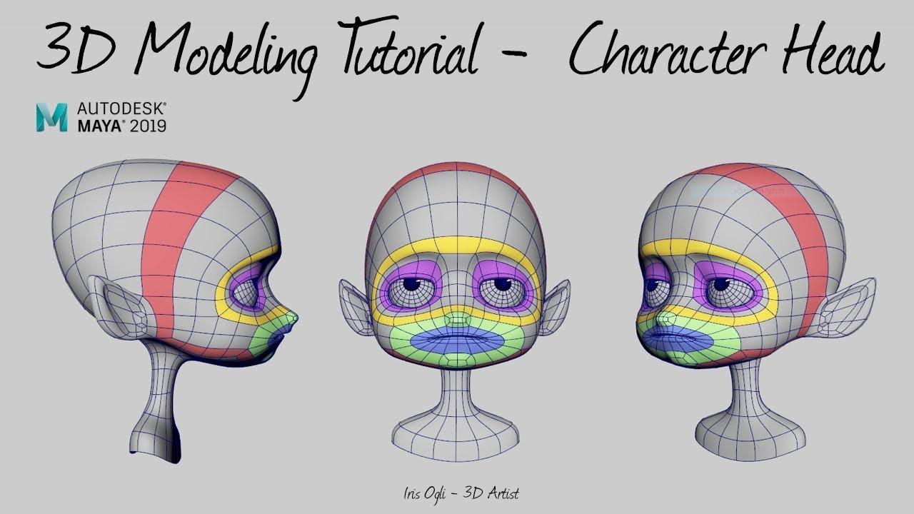 modeling 3d animated character maya tutorial