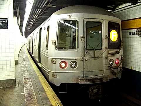 MustangFan424 - This is a video I took of a R46 F Train Entering and Leaving Prospect Park.