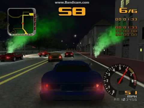 Test Drive 2002 (PC) - Circuit In San Francisco 2