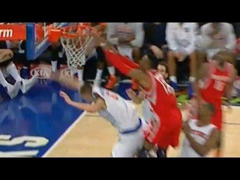 Dwight dunks on Porzingis - Craig Ackerman radio call
