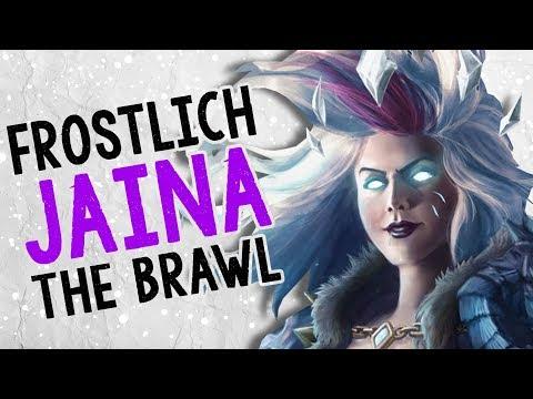 FROSTLICH JAINA THE BRAWL 😒  | Tavern Brawl | Hearthstone