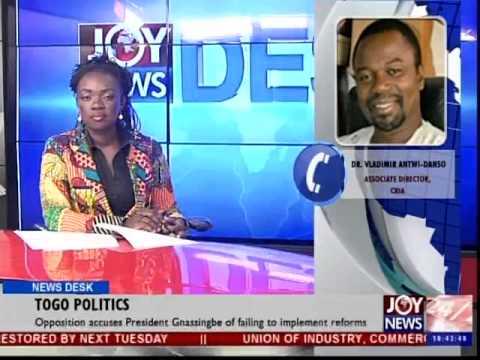 Togo Politics - News Desk (1-12-14)