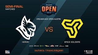 Heroic vs Space Soldiers - DreamHack Open Austin 2018 - map2 - de_mirage [CrystalMay, SSW]