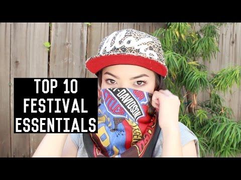 Top 10 Festival Essentials | soothingsista