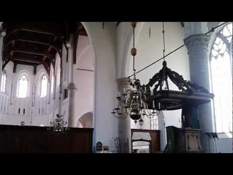 Grote Kerk Brouwershaven: orgelspel van Martien Stouten