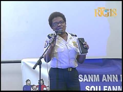 La Police Nationale d'Haïti a organisé un atelier de travail sur les violences faites aux femmes.