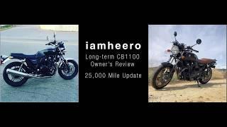 8. 25,000 mile Honda CB1100 Long Term Review Update