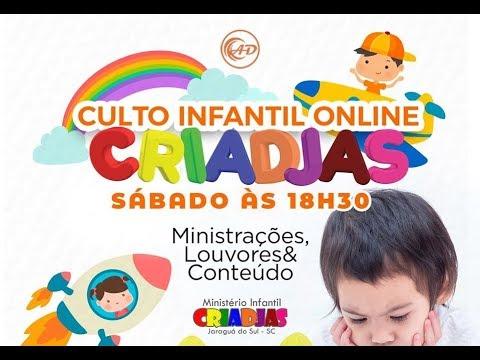 Culto infantil Online - 02/05/2020