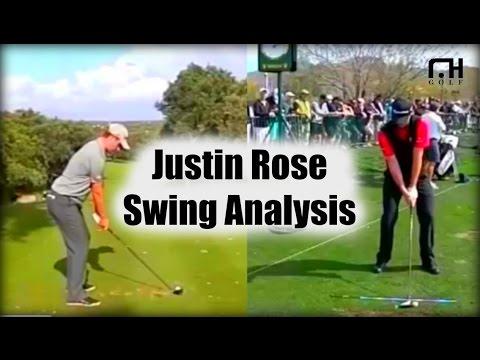 Justin Rose Golf Swing Analysis