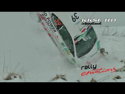 FIA ERC Rally Liepāja 2015 PURE ACTION (Mistakes, Crashes, Close calls)
