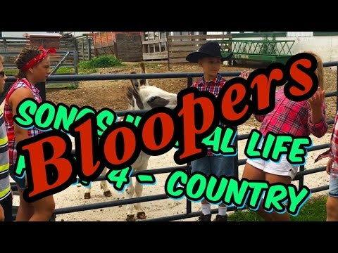 Songs in Real Life Country - Bloopers