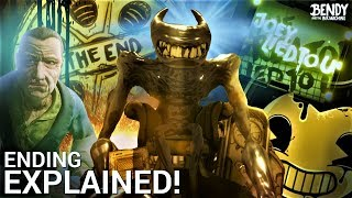 Bendy Chapter 5 Ending EXPLAINED! (Bendy & the Ink Machine Theories)