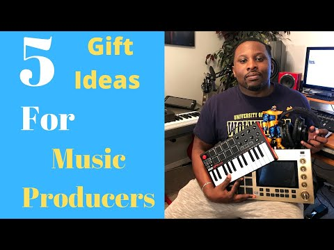 GIFT IDEALS - 5 GIFT IDEALS FOR MUSIC PRODUCERS
