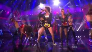 LMFAO Ft justin bieber Party Rock anthem (AMA'S 2011