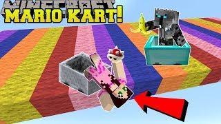 Video Minecraft: MARIO KART RACE!!! (POWER UPS, NEW RACES, & MORE!) Mini-Game MP3, 3GP, MP4, WEBM, AVI, FLV Desember 2018