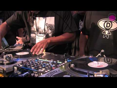 Beat Junkies 20th Anniversary & Performance at RANE | agiprodj.com - NAMM 2012