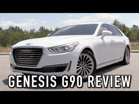 2018 Genesis G90 5.0 Ultimate: Start Up, Test Drive & In Depth Review