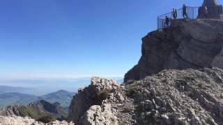 スイス発 センティス山頂からの絶景【スイス情報.com】