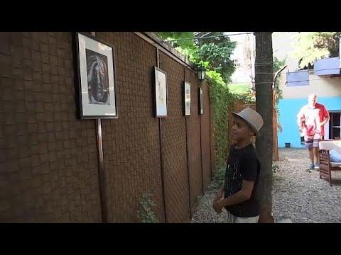 Ο «μικρός Πικάσο» είναι 10 χρονών και είναι πρόσφυγας
