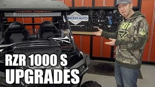 10. 2016 Polaris RZR 1000 S Aftermarket Accessories