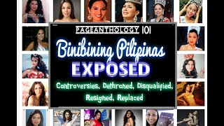 Video Binibining Pilipinas EXPOSED : Dethroned, Disqualified, Controversies, Resigned or Replaced MP3, 3GP, MP4, WEBM, AVI, FLV Juni 2018
