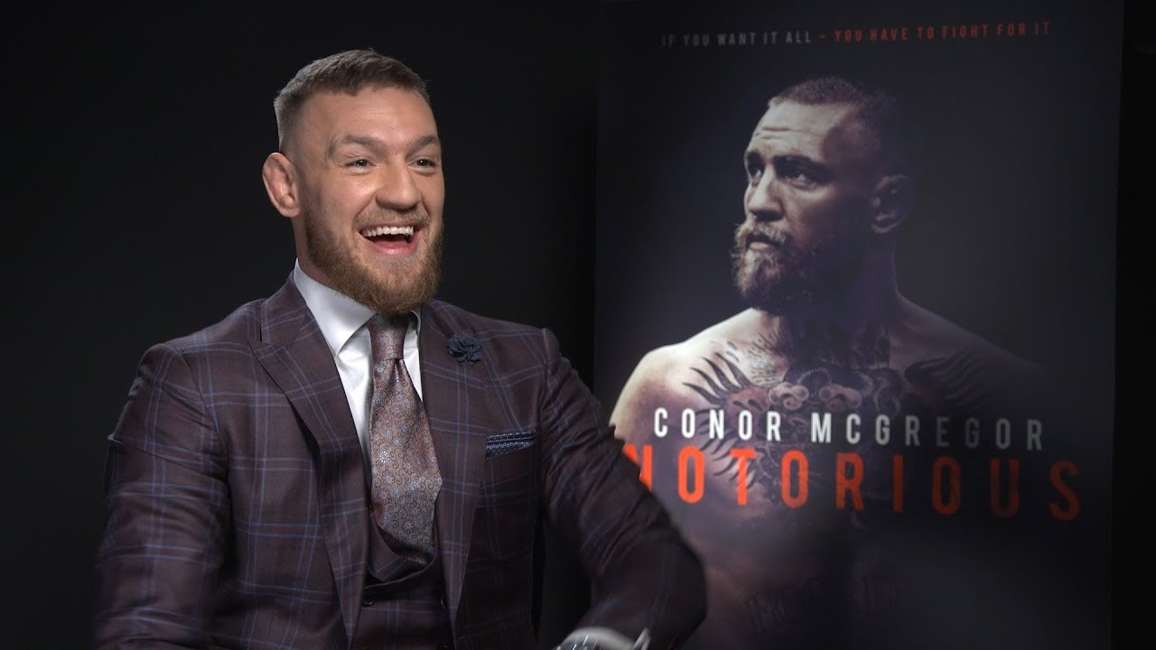 Conor McGregor on being the star of his own documentary Conor McGregor: Notorious